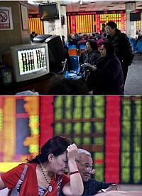 中国株式市場暴落