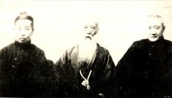 王一亭(右)から水野☆梅、呉昌碩